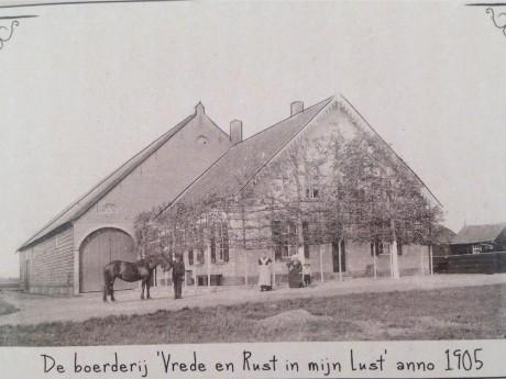 Boerderij 1905 Weergors